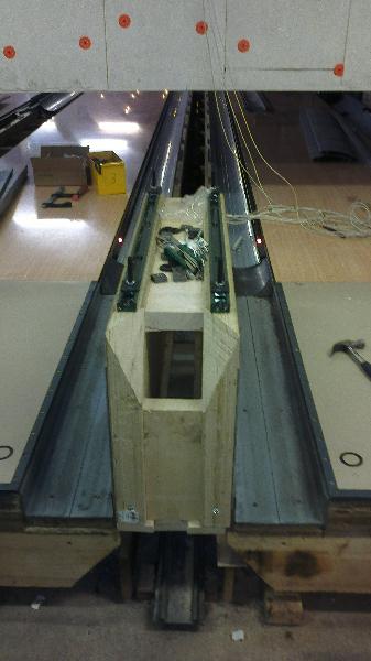 příprava spodní konstrukce pro stavěče
