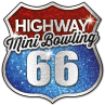 Mini bowling HighWay66 logo