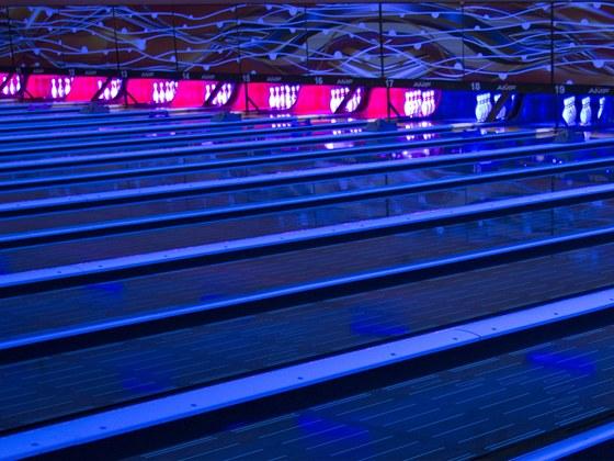 Inteligentní LED osvětlení pro bowling