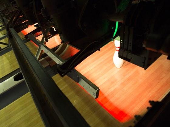 LED osvětlení kuželek